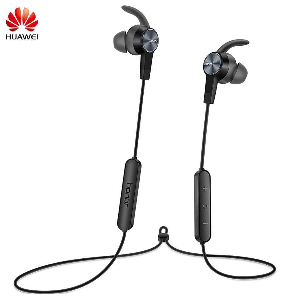 f58798cf556 Asli Huawei Am 116 Earphone dengan MIC Pengatur Pengeras Suara Headset  Logam untuk Huawei P7 P8