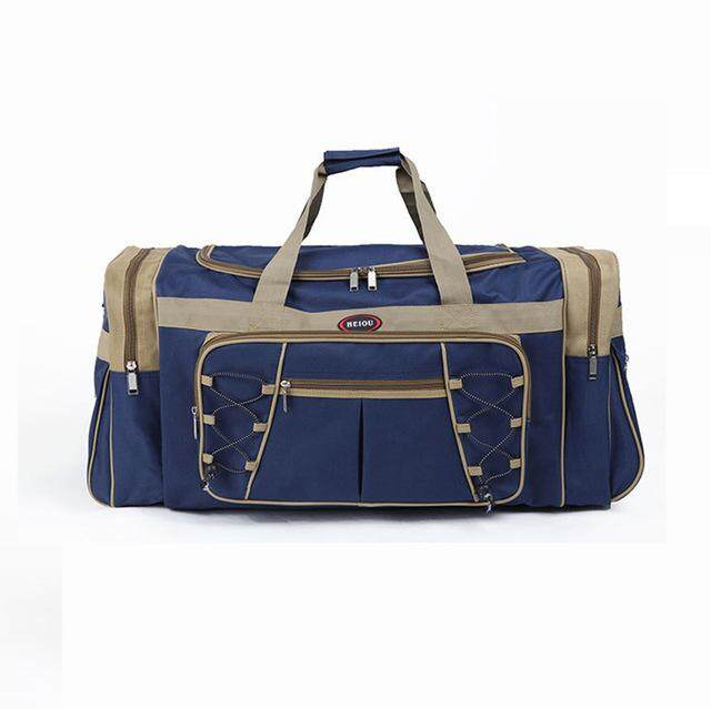 4f29235ddf Waterproof Men Travel Bags Carry on Huge Luggage Bags Mens Duffel Bag  Portable Travel Tote Large