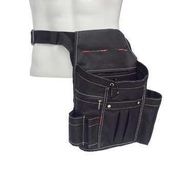 กระเป๋าใส่เครื่องมือ dolity Heavy Duty Oxford พร้อมกระเป๋าหลายช่อง,สายรัดเอวปรับระดับได้