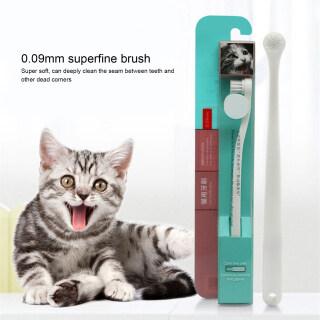 Vật Nuôi Mèo Xử Lý Bàn Chải Đánh Răng Đầu Bàn Chải Mềm Làm Sạch Răng, Dụng Cụ Vệ Sinh Răng Miệng thumbnail