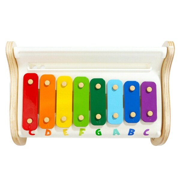 TOP BRIGHT Infant Music Toy Piano Baby Children Music Box Xylophone Percussion Instrument Kids Toys Gifts with 2 Mallets Malaysia