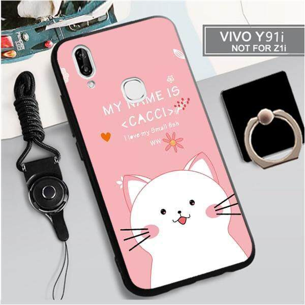 For Vivo Y91i New Cartoon Lovely Animals TPU Soft Case Fashion Phone Case Cover Casing 3in1