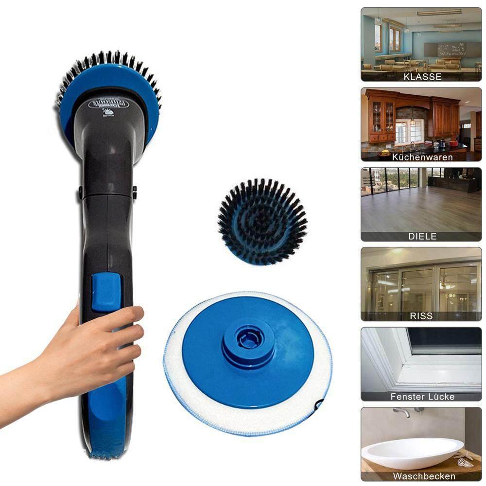 BuyBowie Điện Quay Cọ Rửa, Có 3 Sự Khác Biệt Nhựa Bàn Chải dành cho Phòng Tắm, Sàn Tường Nhà Bếp