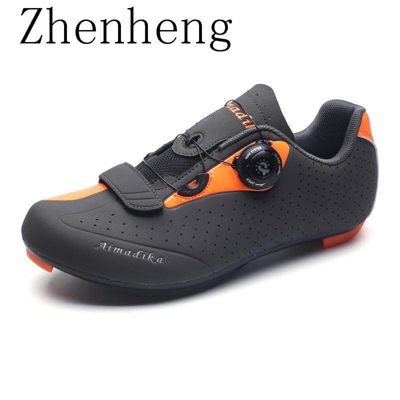 Zhenheng Quick Lace Style Road Bike Cycling Shoe(Read Stock)