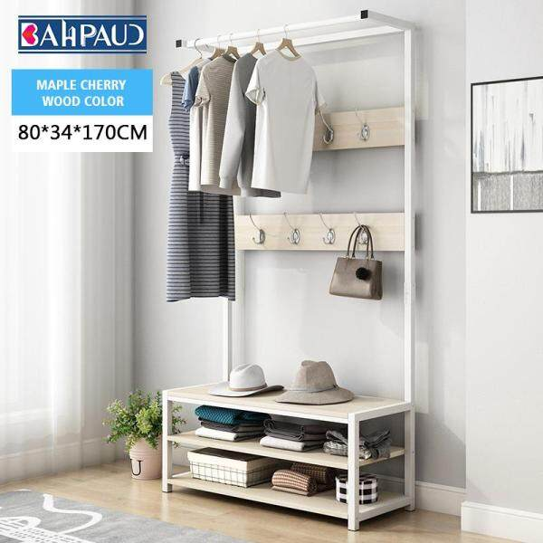BAHPAUD Modern Minimalist Coat Rack Multifunctional Floor Rack