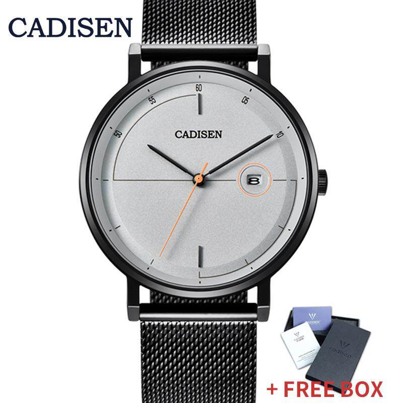 CADISEN Men Watches Business Clock Classic Design 3M Waterproof Date Quartz Wristwatch Malaysia