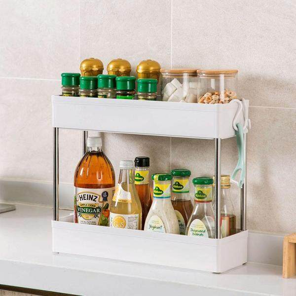 Homenhome Removable Gap Storage Rack Kitchen Trolley Multi-layer Rack