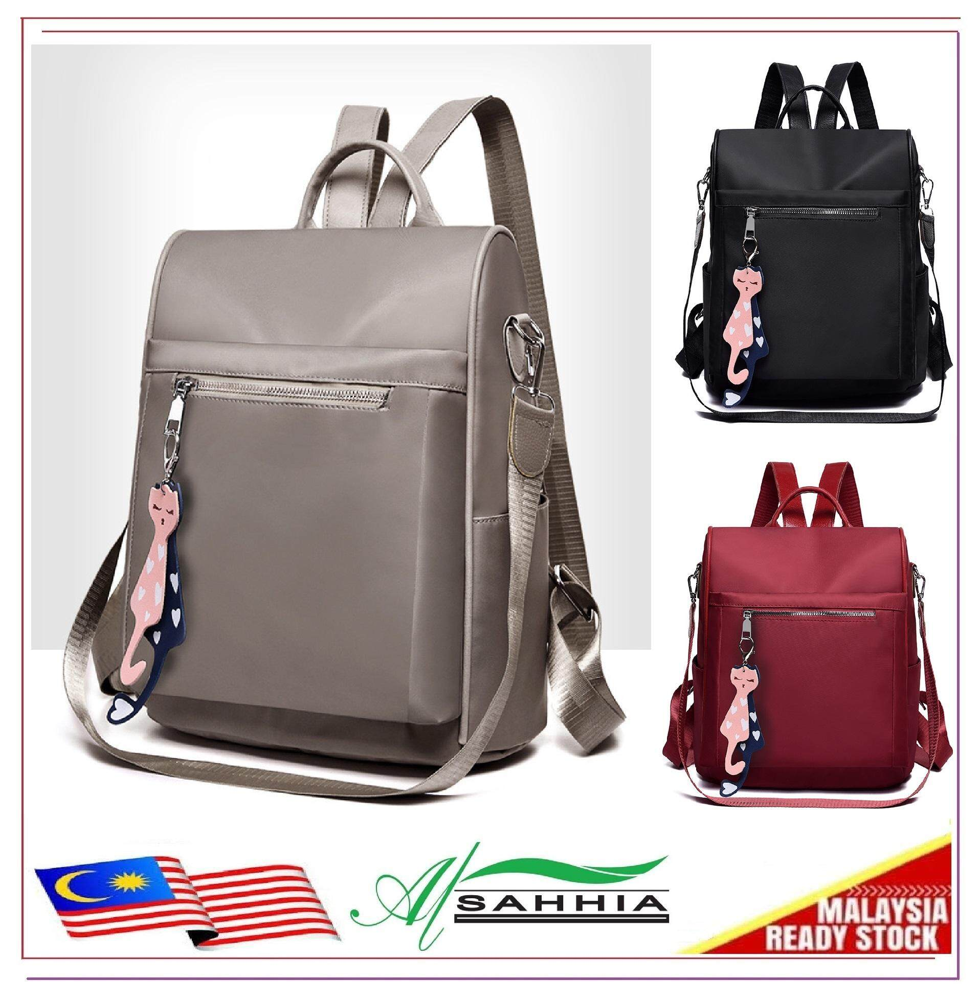 70aa7e0df98b Al Sahhia Cat Oxford Waterproof Teenage Backpack Travel Casual Bag Oxford  Cloth Nylon