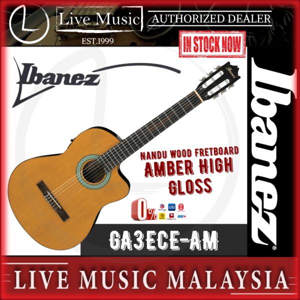 Ibanez GA3ECE Classical Guitar with Pickup - Amber High Gloss (GA3ECE-AM) Malaysia