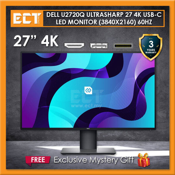 Dell U2720Q 27 4K UltraSharp USB-C (3840x2160) 5MS IPS LED Monitor Malaysia