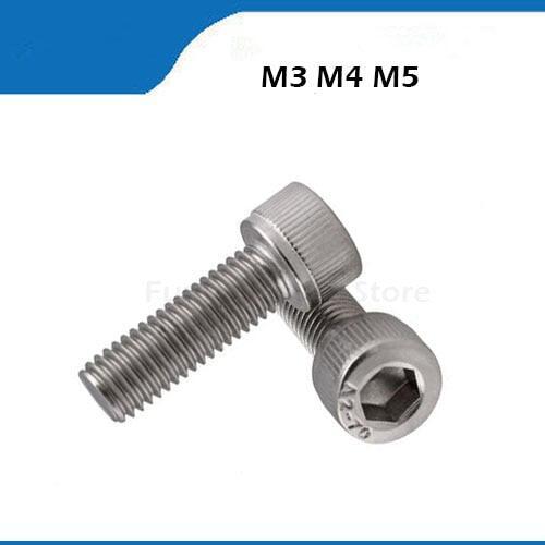 2//4//10pcs M5 x 12 Titanium Ti Flat Head Bolts Hex Socket Countsunk Screw GR.5