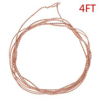 AYUYTDB Professional Fishing Line Fly Fishing Leader with Tippet Ring PET Furled Leader thumbnail