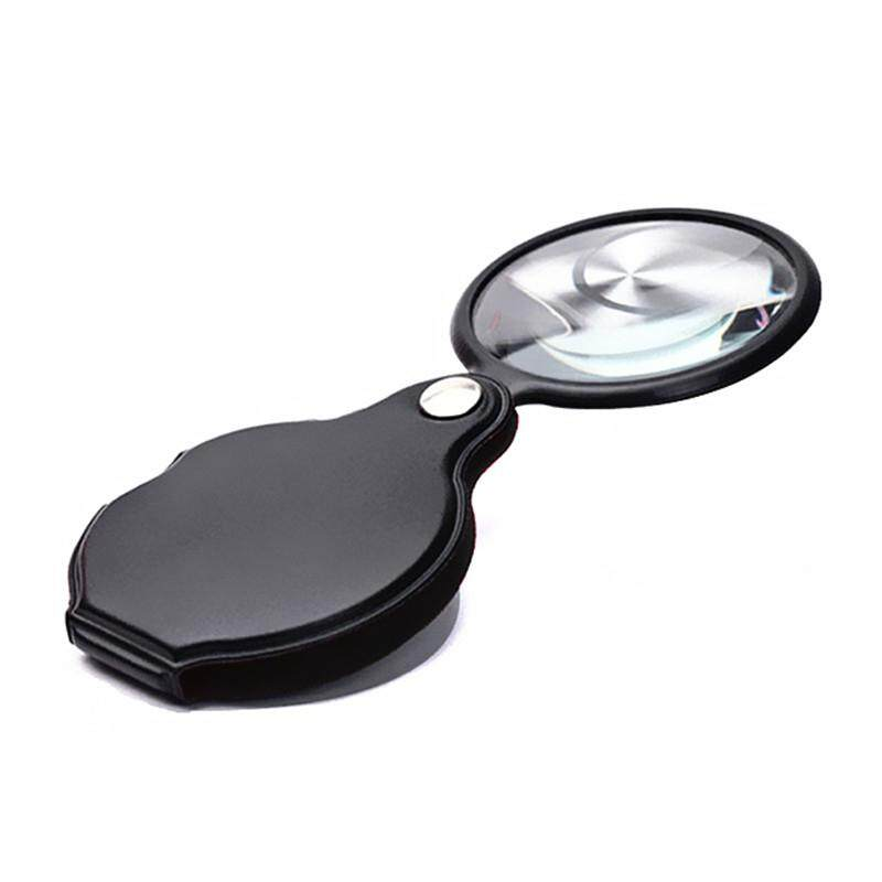 Handheld Folding Magnifying Glass Magnifier Loupe Reading For The Aged