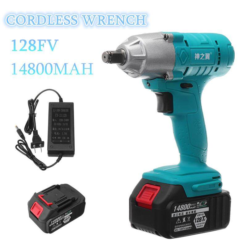 Cordless Impact Drill Driver Kit Powerful Combo Kits with 1 Rechargeable Lithium-Ion Battery