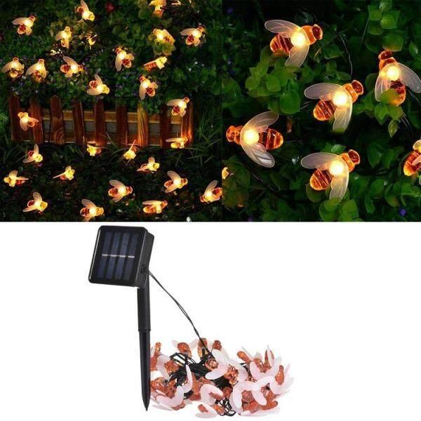 PHOME 50 Đèn LED Sân Vườn Năng Lượng Mặt Trời, Đèn Dây Thần Tiên Ong Không Thấm Nước