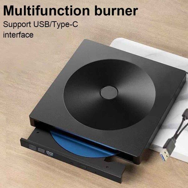 Type C Blue Ray USB3.0 External Computer PC Drive Free Laptop Fast Transmission Office CD BD Plug And Play Home DVD Burner Writer