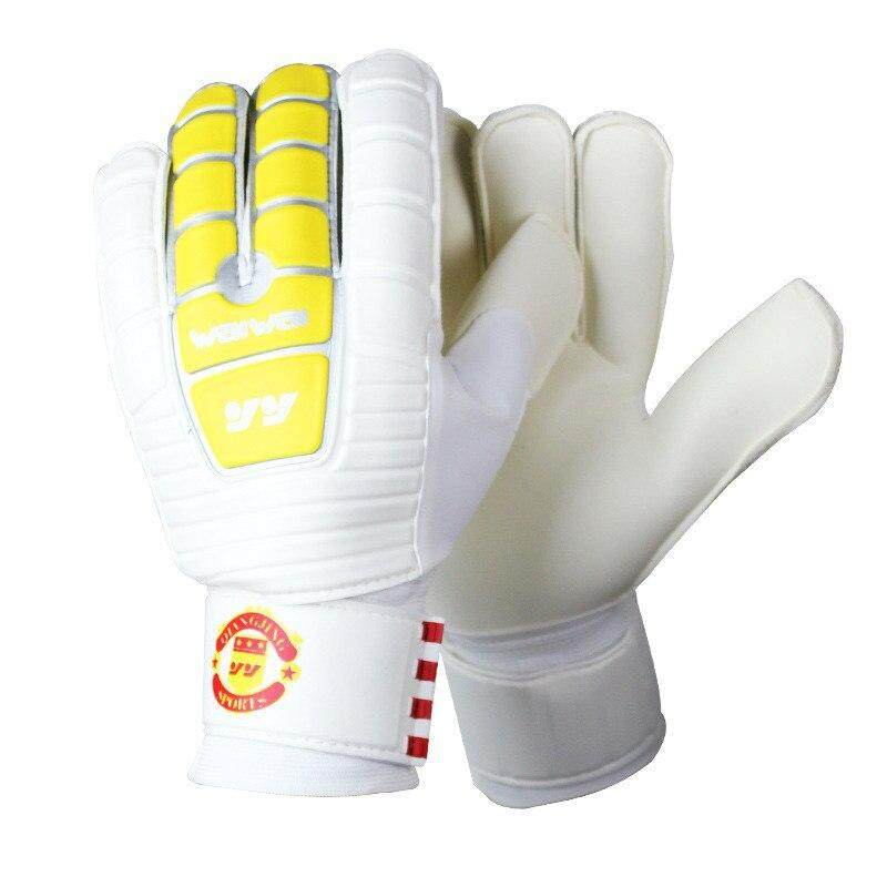 2018 Professional Soccer Goalkeepers Glvoes Latex Finger Protection Non-Slip Men Football Gloves Futebol Futbol Luva De Goleiro.