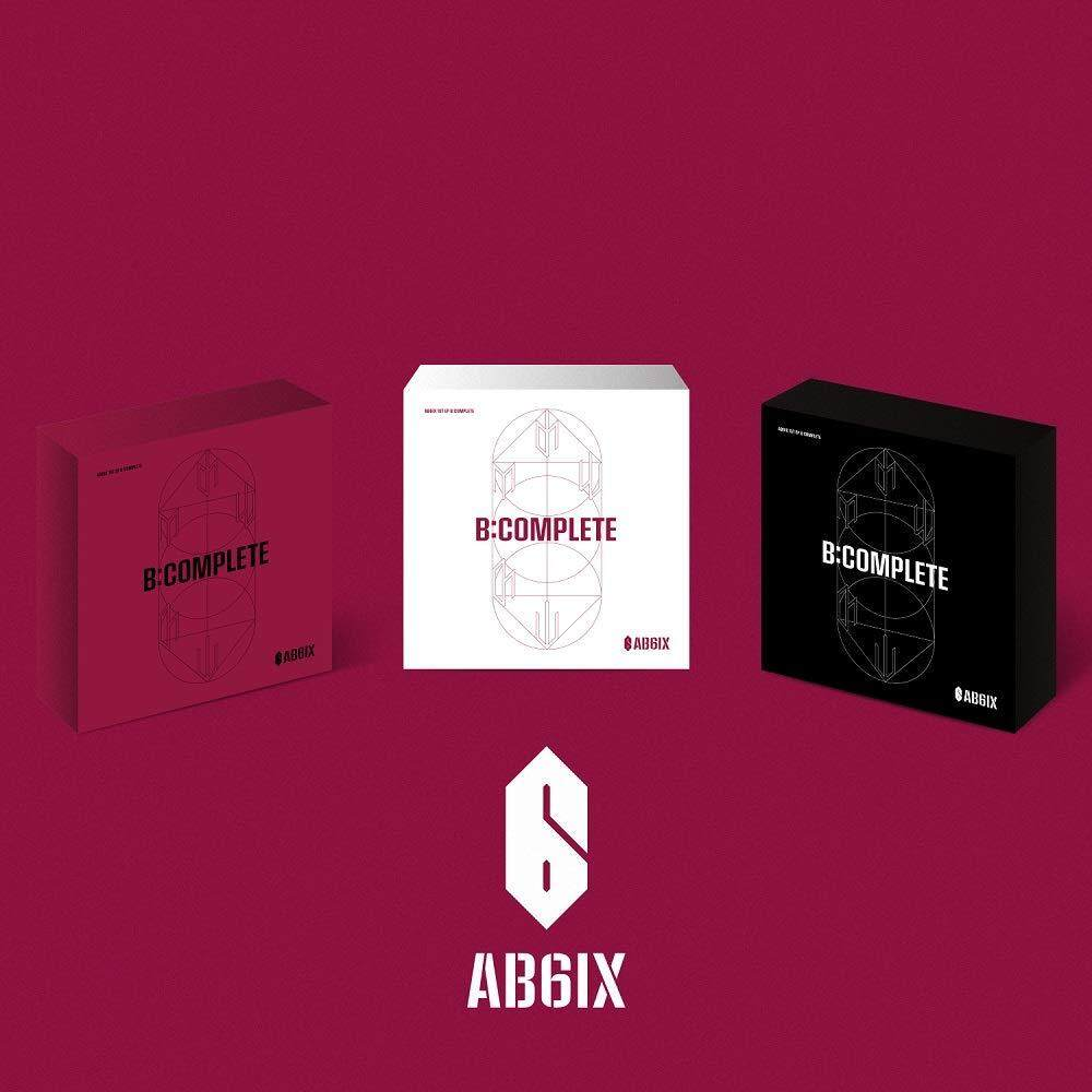 AB6IX - B:Complete (1st EP) [Random ver.] 1 Album + 1 Folded poster - kpop