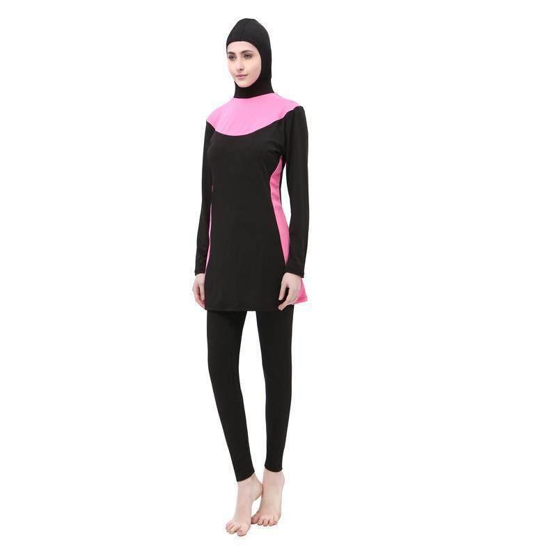 4b23b4a45b6 Lilywise Muslimah Swimming Suit Lady Beach Muslimah Swimwear Women Long  Sleeve Baju Mandi Muslimah