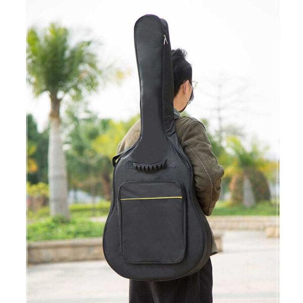 Vỏ Đàn Guitar Âm Thanh Kỳ Diệu Túi Đeo Vai Ba Lô Túi Xách Tay Cho Guitar Acoustic 41 Inch