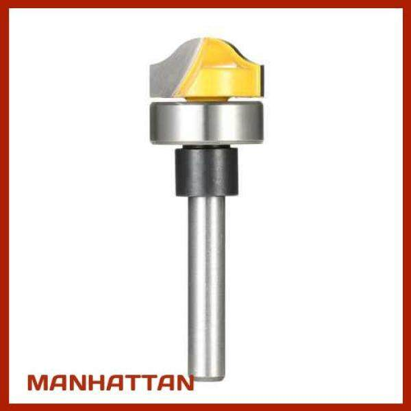 [ MANHATTAN ] 1/4 Shank Profile Groove Template Router Bit Woodworking Cemented Carbide Trim Groove Cutter Carving Tool (2)