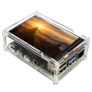 Màn Hình LCD Có Vỏ Thay Thế Màn Hình Cảm Ứng Đa Chức Năng HDMI Nhẹ 3.5 Inch Phụ Kiện Di Động Dễ Dàng Lắp Đặt Cho Raspberry Pi 4B thumbnail