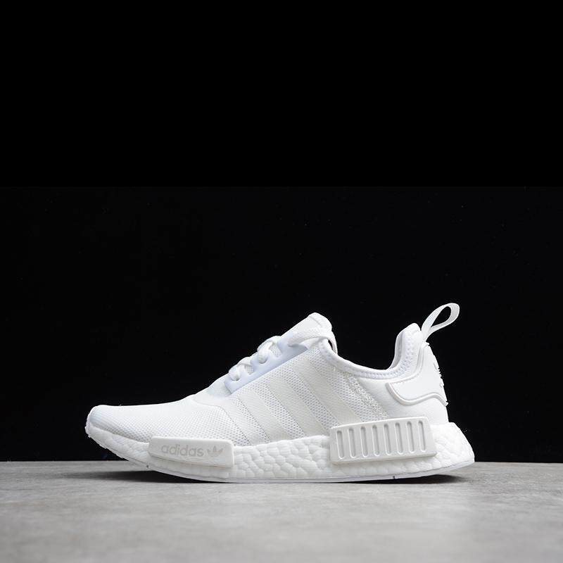 uk availability 50d00 c2041 Adidas_NMD_R1 All White Men's and Women's Running Shoes Sports Shoes BA7245