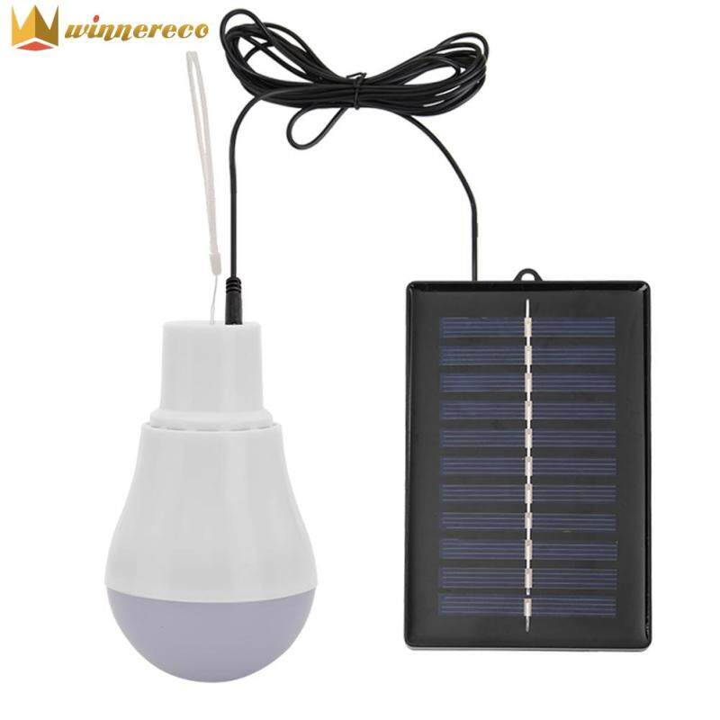 Đèn Năng Lượng Mặt Trời 5V 15W 300LM, Đèn Ngoài Trời Sạc USB Di Động, Bóng Đèn LED Tuổi Thọ Cao