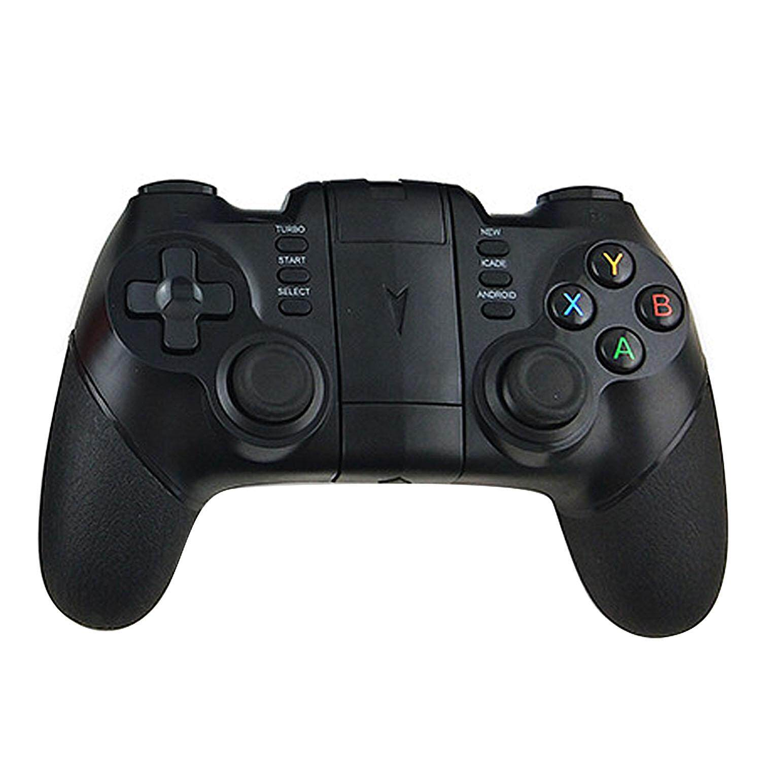 Wireless Bluetooth Gaming Controller Gamepad Joystick With Turbo Function Compatible With Android Ios Iphone Huawei Samsung Xiaomi Black By Stoneky.