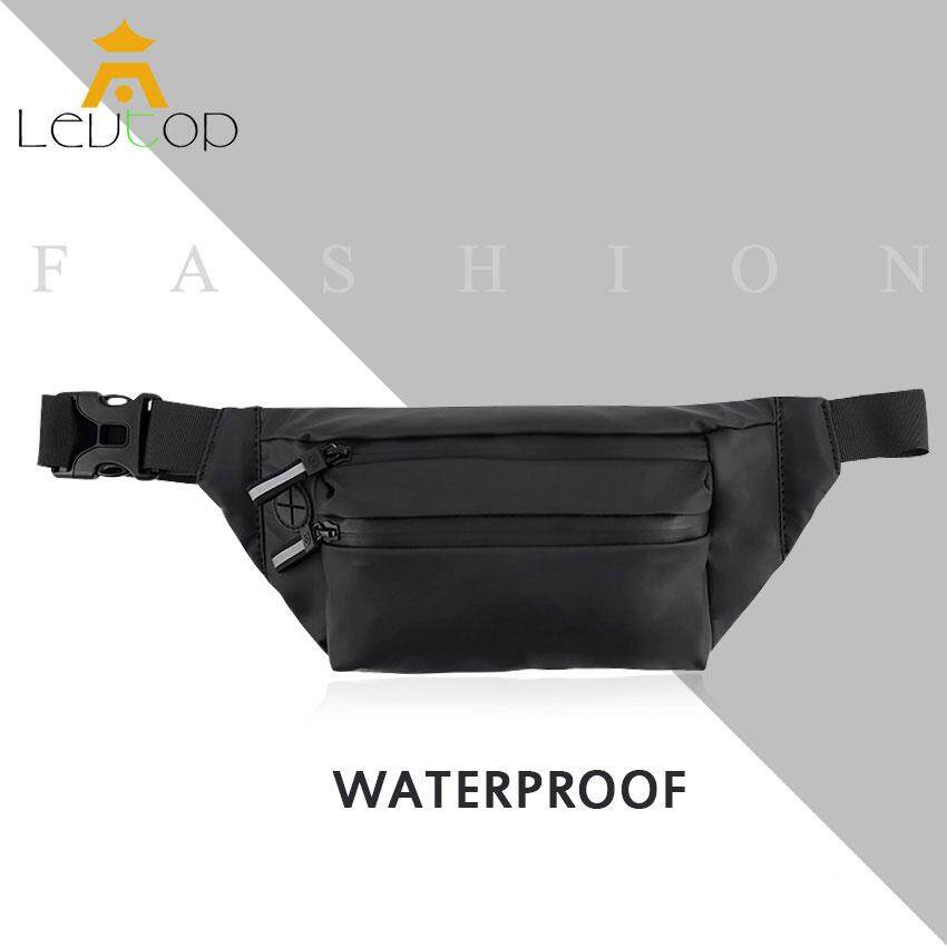 LEVTOP Crossbody Bag Chest Bags Waterproof Anti-Theft Men Travel Bag Waist Packs Sports Pack Women Waist Punch Belt Bag for Outdoor Cycling Running Fishing Hiking Climbing