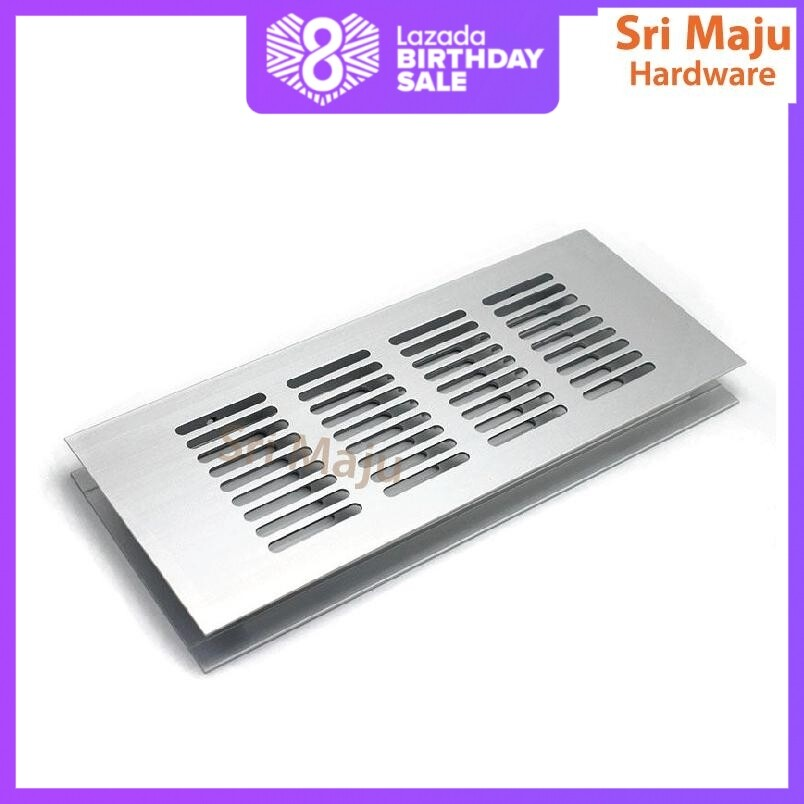 80*200//80*300//80*350mm Air Vent Louvred Grill Cover Ventilation Grille Hardware