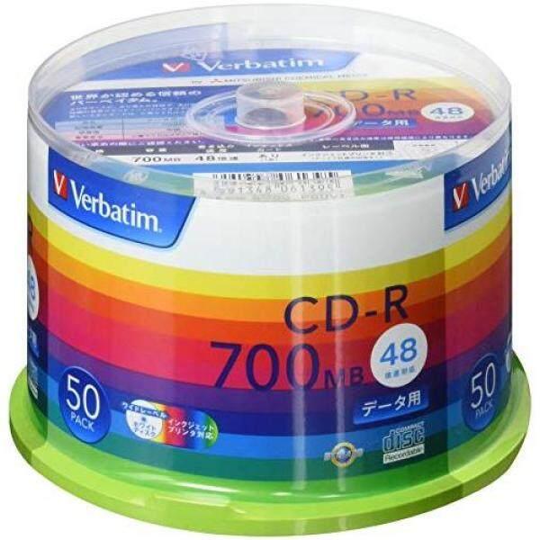 Verbatim Japan Mitsubishi Chemical Media Verbatim 1 times for recording CD-R SR80SP50V1 (48 speed / 50 sheets)