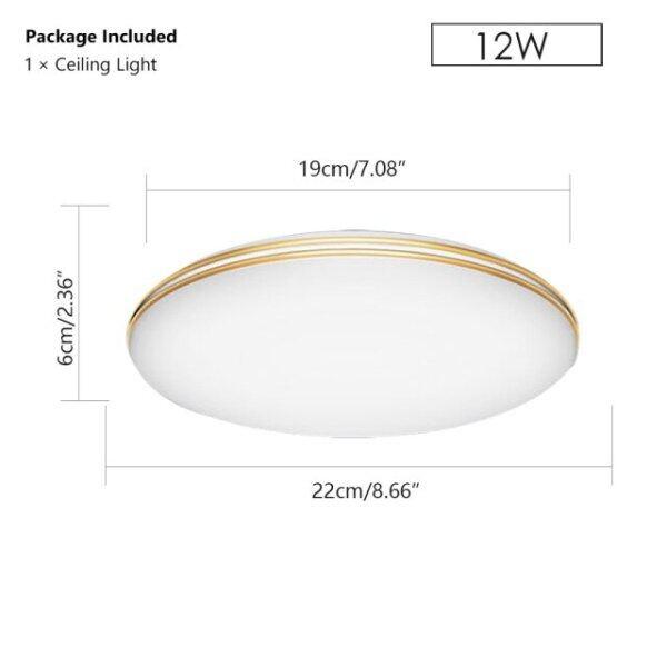 Bảng giá Đèn Trần LED Siêu Mỏng, Đèn Bảng Hiện Đại Bếp Phòng Ngủ 12W/18W/24W/48W AC 220V Gắn Phẳng