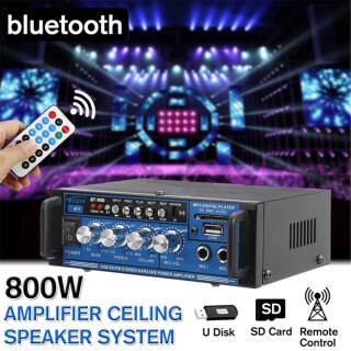 Bộ Khuếch Đại Âm Thanh Bluetooth Tại Nhà KeyNG 800W, Loa Siêu Trầm Âm Thanh Nổi HIFI 220V 12V Cho Rạp Hát Tại Nhà, Hệ Thống Âm Thanh Chuyên Nghiệp, Phích Cắm EU thumbnail