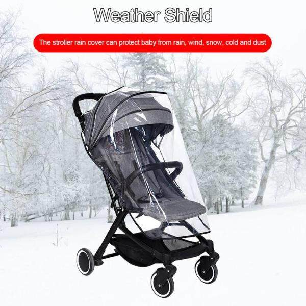 Stroller Cover Weather Shield EVA Rainproof Buggy Cover Universal for Babies Strollers Singapore