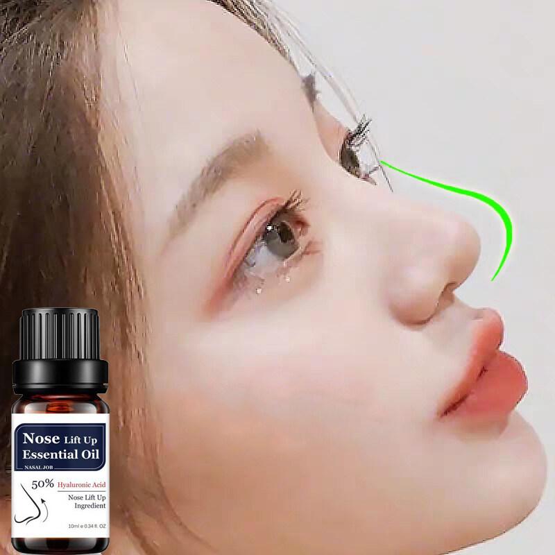 Tinh dầu mát xa nâng mũi tạo dáng mũi đẹp cho gương mặt hoàn hảo giúp giữ ẩm làm săn chắc mũi trọng lượng 10ml - INTL