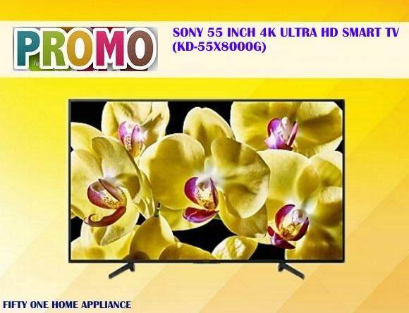 SONY 55 INCH 4K ULTRA HD SMART TV KD55X8000G
