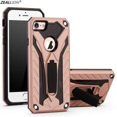 Ốp Zeallion Cho Apple iPhone SE 5 6 6S 7 8 Plus X XR XS 11 Pro Max, Ốp Điện Thoại Phantom Knight Chống Rơi, Ốp Lưng Cứng PC Mềm TPU Chắc Chắn
