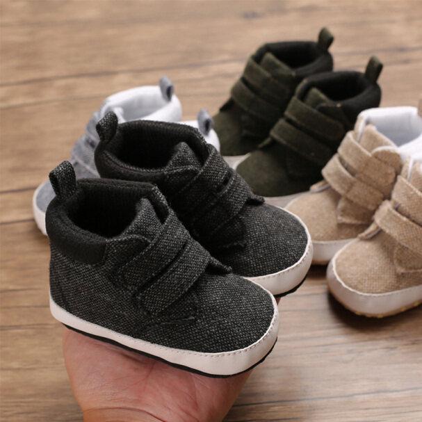 Giày Cao Cổ Ấm Áp Đế Mềm Chống Trượt Giày Vải Bốt Cho Bé Bốt Cao Giày Cho Trẻ Mới Biết Đi Bốt Giữ Ấm giá rẻ