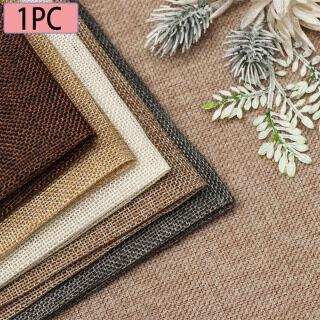 1 Chiếc Vải Phông Nền Chụp Ảnh Màu Trơn Vải Lanh Giới Hạn 45 50 45 100 Đạo Cụ Nền Vải Dệt Cổ Điển thumbnail