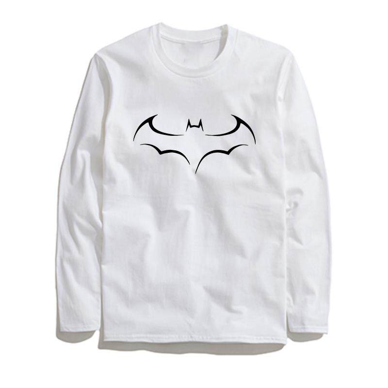 COOLMIND BA0117L 100% cotton why so serious print men T shirt casual long  sleeve o 5554ed7fcd2e