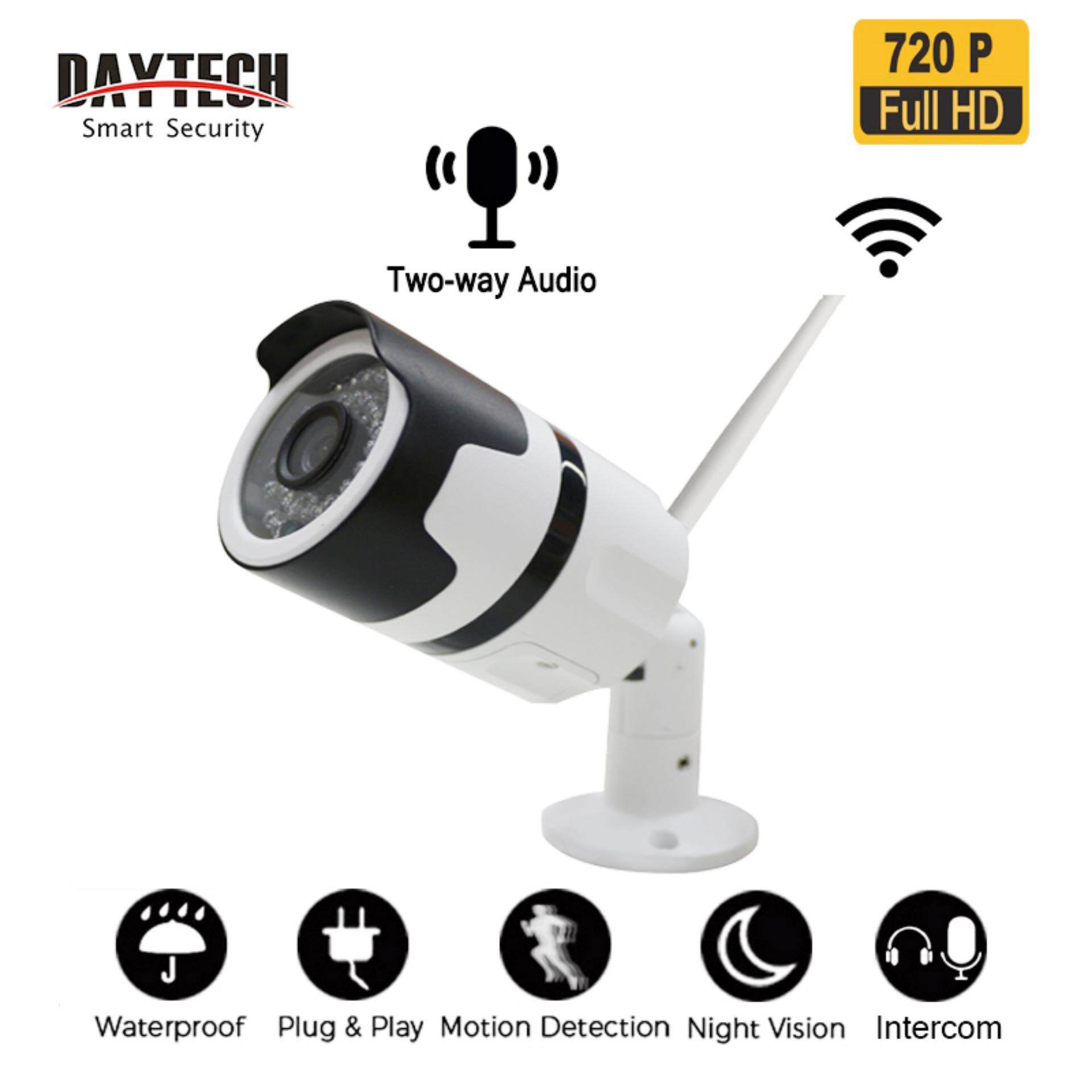 Daytech Outdoor Ip Camera Cctv 720p/1080p Hd Wifi Wireless Surveillance Network Security Camera Waterproof Two Way Audio Night Vision(dt-H03) By Daytech Official Store.