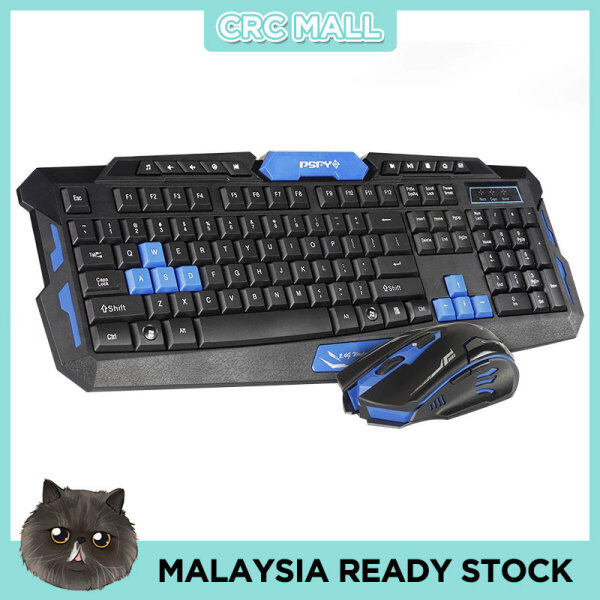 2.4G Desktop Set Wireless Mouse and Wireless Multimedia Keyboard Combo Malaysia