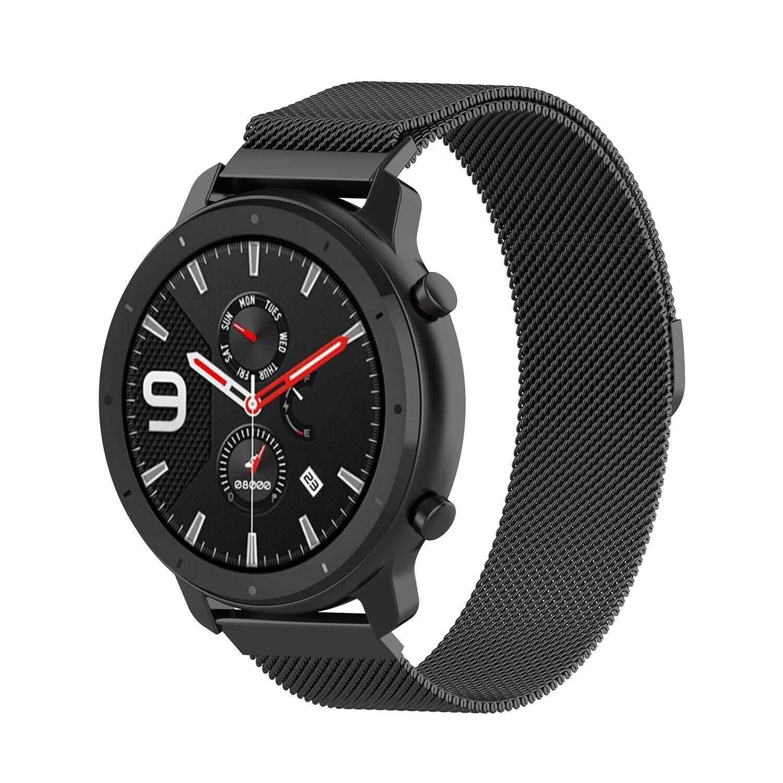 Giá LJAN dây đeo Huami AMAZFIT GTR/Samsung Galaxy dây R800 Đồng hồ thông minh dây thép không gỉ 47mm Dây đeo