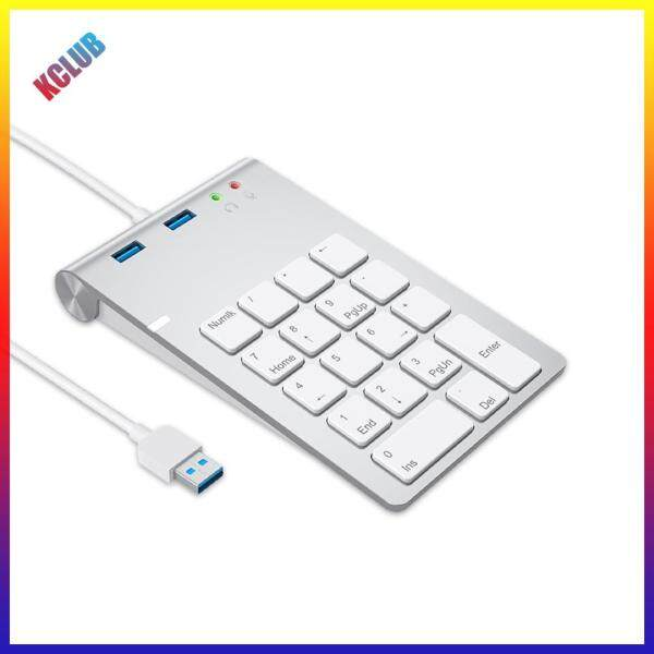 18 Key Numeric Keypad Numpad USB HUB Digital Keyboard for Laptop Desktop PC Singapore
