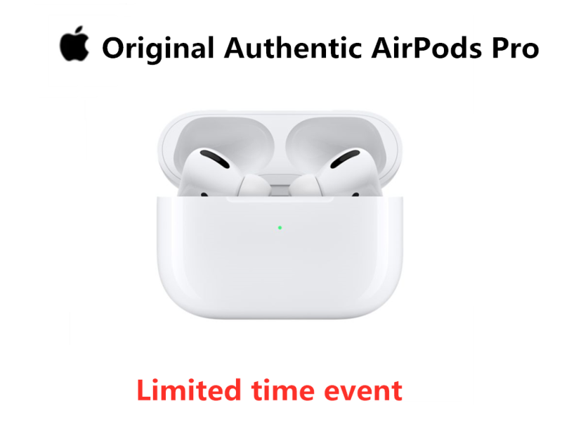 Original Airpods Pro For Wireless Bluetooth Earphone Active Noise Cancellation Singapore