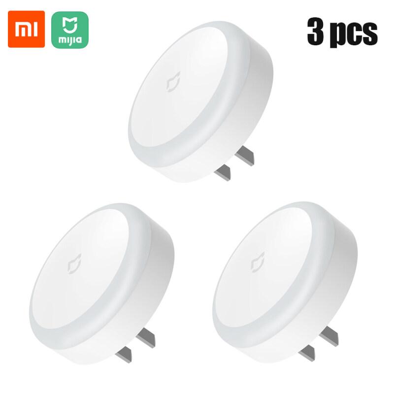 3 Cái Xiaomi Mijia Plug-In Night Light Sense Cảm Ứng Ánh Sáng Mềm Cắm Cảm Biến Ánh Sáng Ngủ Đêm Đèn Tiết Kiệm Năng Lượng Ánh Sáng Ban Đêm Cho Phòng Ngủ Hành Lang Cảm Biến WC 220V
