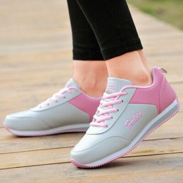 Giày Chơi Gôn Giày Nữ Da Thể Thao Chống Trượt Chống Thấm Nước Giày Sneaker Lưới Đế Bằng Hoang Dã Phụ Nữ Thể Dục Thoáng Khí giá rẻ