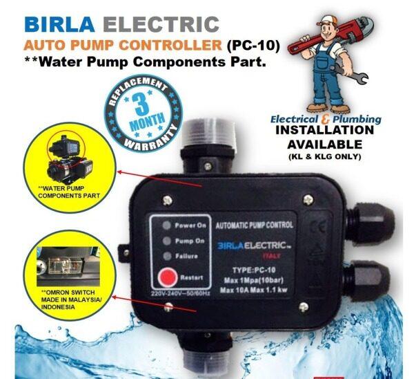 Birla Electric Home Water Pump Auto Press Controller (PC10), Booster Pump Components Part