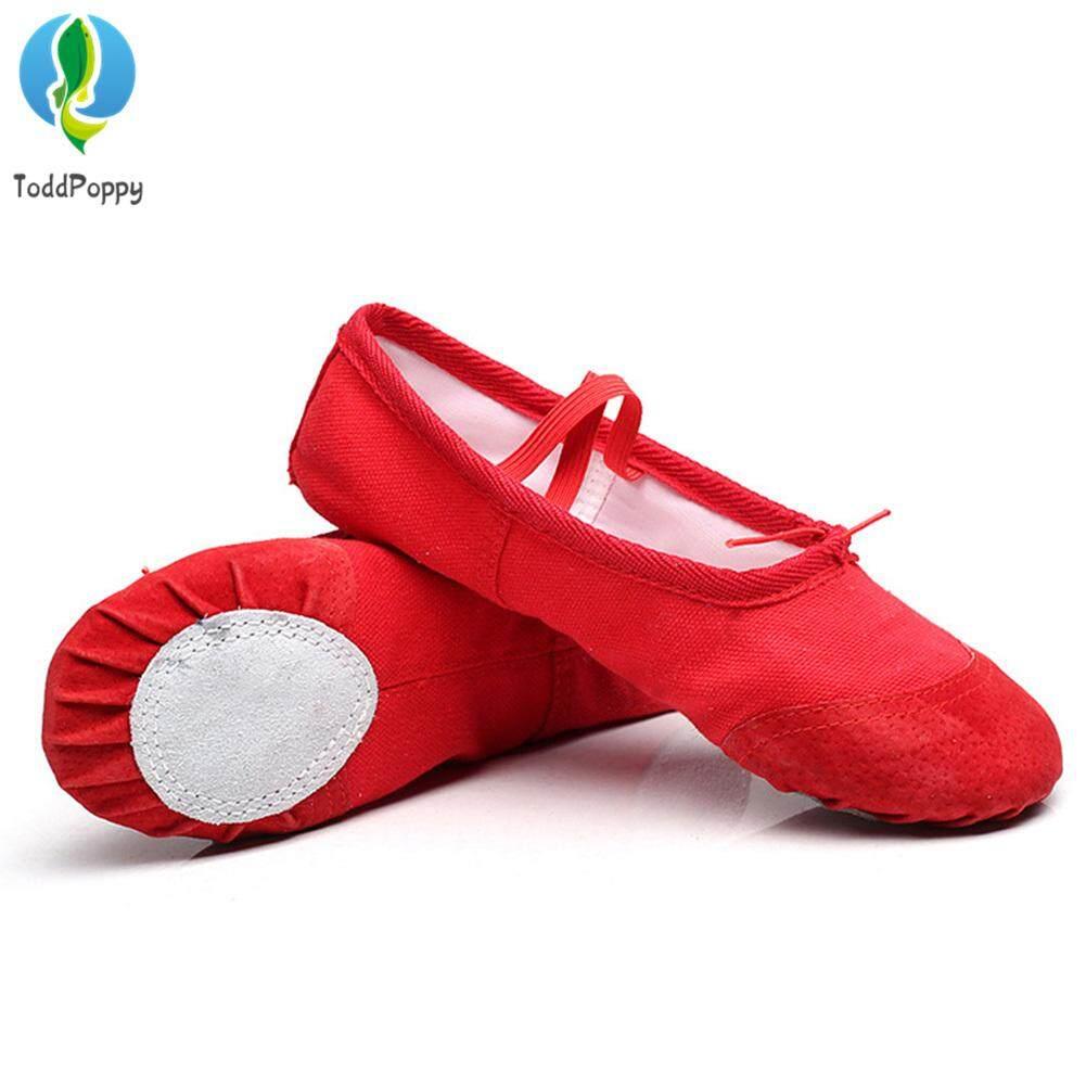 Người Lớn Trẻ Em Vải Giày Múa Ba Lê Nhảy Đầu Bàn Chân Thể Dục Yoga Giày Giảm Giá Khủng